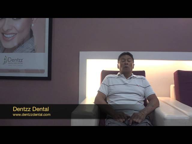 A patient from Australia shares his experience at Dentzz