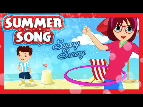 SUMMER SUMMER Song (Sunny Sunny) - Dance Song for Kids | KIDS HUT