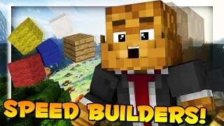 Minecraft Speed Build TOURNAMENT w/ BajanCanadian