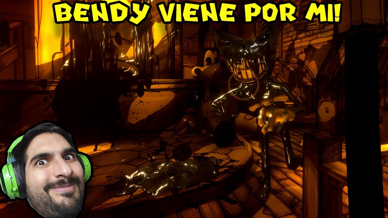 BENDY VIENE POR MI !! - Bendy And The Ink Machine con Pepe el Mago (#4)