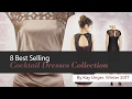 8 Best Selling Cocktail Dresses Collection By Kay Unger, Winter 2017