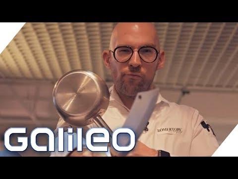 Sternekoch vs. Wissenschaft: Spaghetti wie bei Mama | Galileo | ProSieben