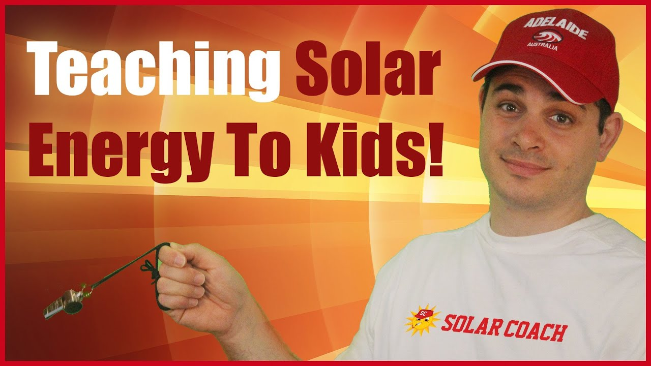 Teaching Solar Energy To Kids Greenwith Primary School