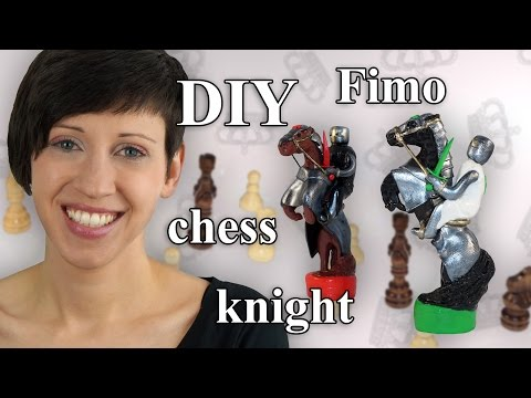 FIMO Springer: Polymer Clay Chess Knight - Tutorial [HD/DE] (EN-Sub)