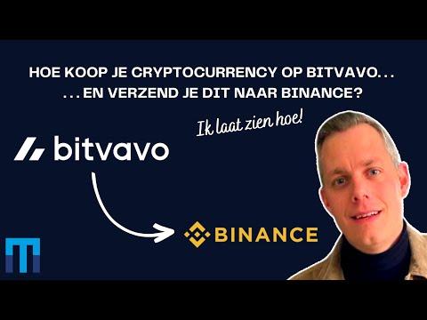 Download Cryptocurrency kopen op Bitvavo en versturen naar Binance