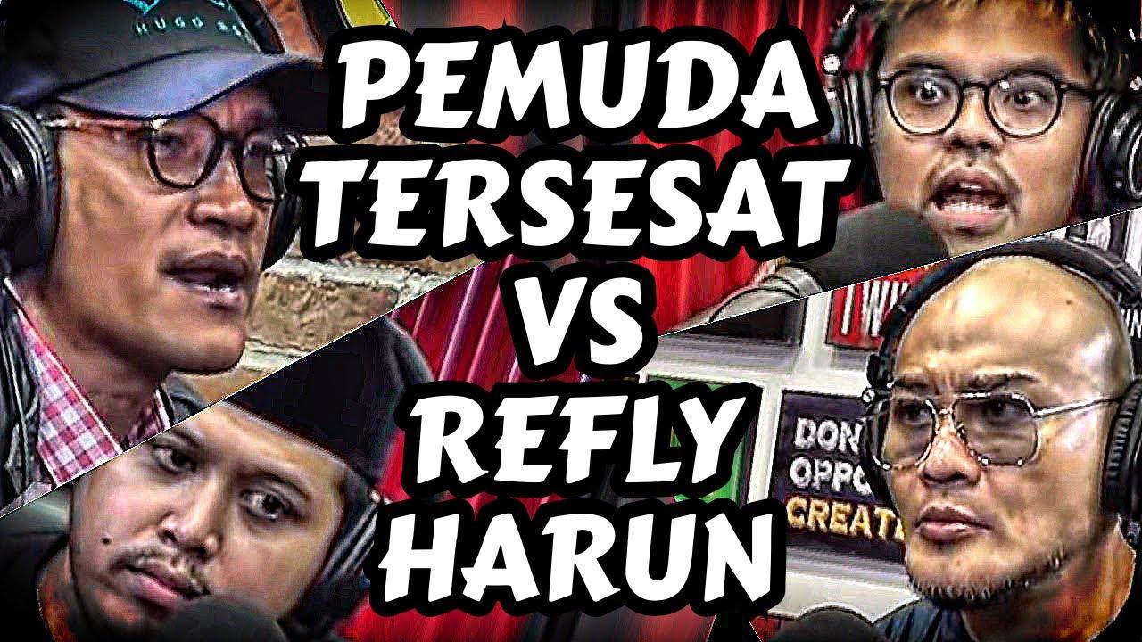 KACAU BALAU 🤣 Refly Harun VS Pemuda Tersesat VS Presiden 🤣 - Deddy Corbuzier Podcast