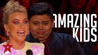 TOP 10 KID Auditions And Performances On America's Got Talent 2019 | PART 2 | Got Talent Global