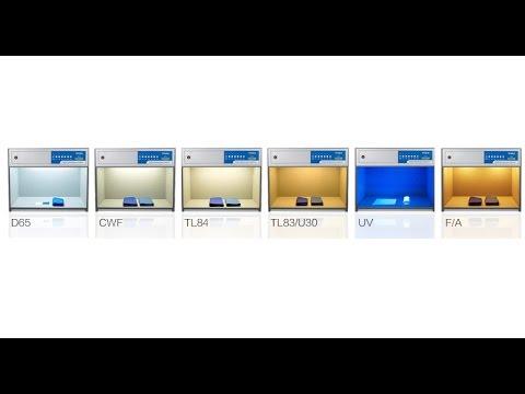 Color Assessment Cabinet, Light Booth,Color Light Box - www.vteke.com