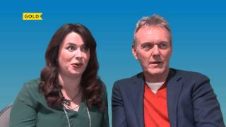 Anthony Head & Eve Myles | Working with Honor Blackman | You, Me & Them