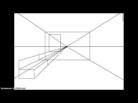 Perspectief tekenen artist doovi for Kamer 3d tekenen