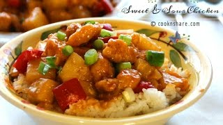 Homemade Sweet and Sour Chicken - Cook n' Share