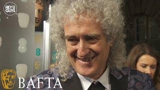 Brian May on Queen biopic Bohemian Rhapsody starring Rami Malek at the BAFTAs