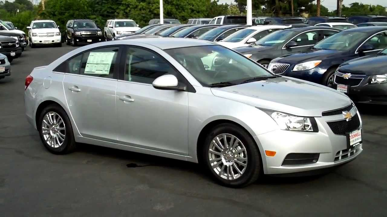 2011 Chevy Cruze Eco 44 Mpg Silver Ice Met O Donnell