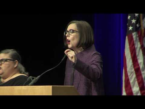 Kate Brown Election 2016 Acceptance Speech