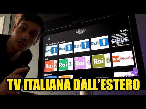 Come GUARDARE LA TV ITALIANA Dall'ESTERO Sul TV GRATIS,  PEZZOTTO LEGALE SERVIZIO IENE