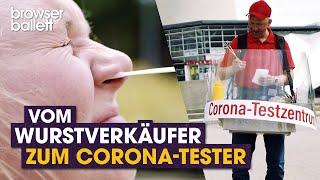 Vom Wurstverkäufer zum Corona-Tester