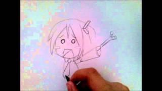 ✎ [TUTO] Dessiner Hatsune Miku Cartoon ✎