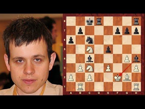 Amazing Chess Game: Super Grandmaster Navara's unbelievable King Walk Game! like Neo in Matrix!