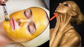 Золотая маска для лица Как в 50 выглядеть на 35 А ты знал