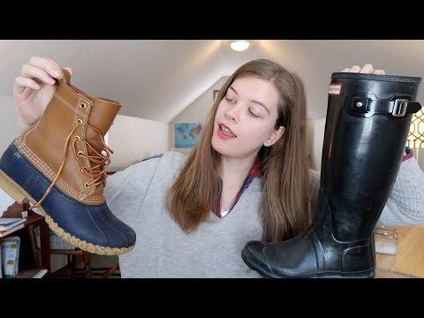 LL Bean Boots Vs. Hunter Boots | Comparison & Review