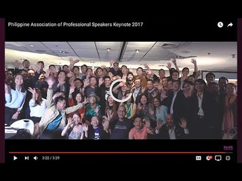 Philippine Association of Professional Speakers PAPS Hymn