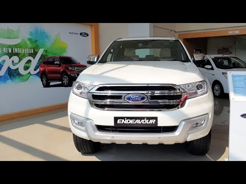 New Ford Endeavour 4x4 Sunroof Walkaround Price Mileage