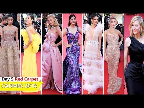 Cannes Film Festival 2018 [ DAY 5 ] Red Carpet | Full Video | Celebrity Dresses