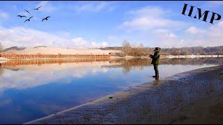 Зимний СПИННИНГ на Москва-реке 2020. Зимняя рыбалка со спиннингом. Ловля на джиг в феврале.