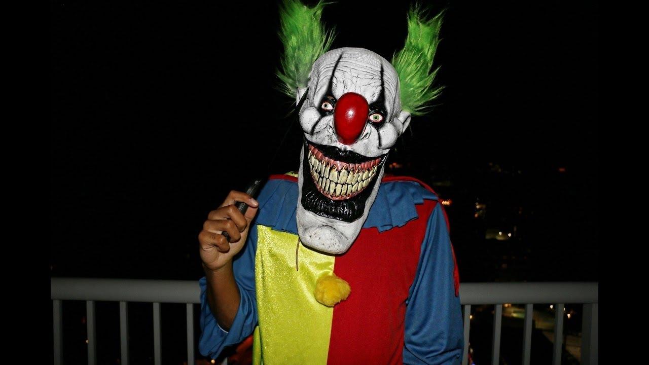 страшные клоуны убийцы