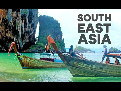4 MINUTES 5 COUNTRIES - BACKPACKING SOUTHEAST ASIA
