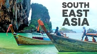 4 MINUTES 5 COUNTRIES - BACKPACKING THROUGH SOUTHEAST ASIA