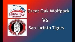 Shortstop Fly Ball Catch. Great Oak Vs San Jacinto. High School Softball. Emily Burrow Class Of 2017