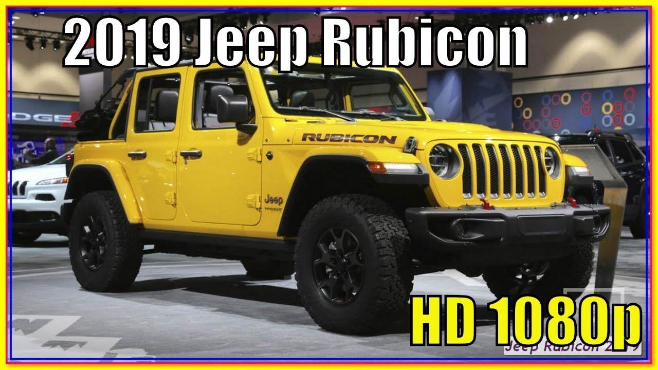 2019 jeep wrangler rubicon price in canada