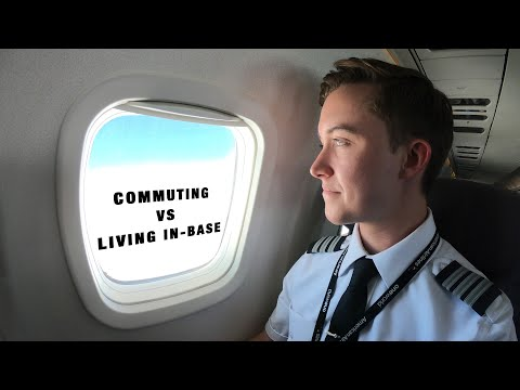 Your Big Decision: Commuting vs. Living In-Base For Airline Pilots