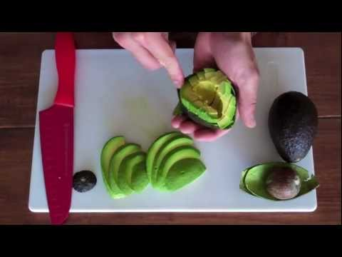 How to Cut Perfect Avocado Slices