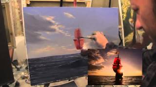 Бесплатный видео урок Алые паруса Игорь Сахаров