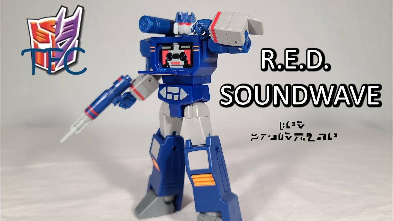 TF Collector R.E.D. Soundwave Review