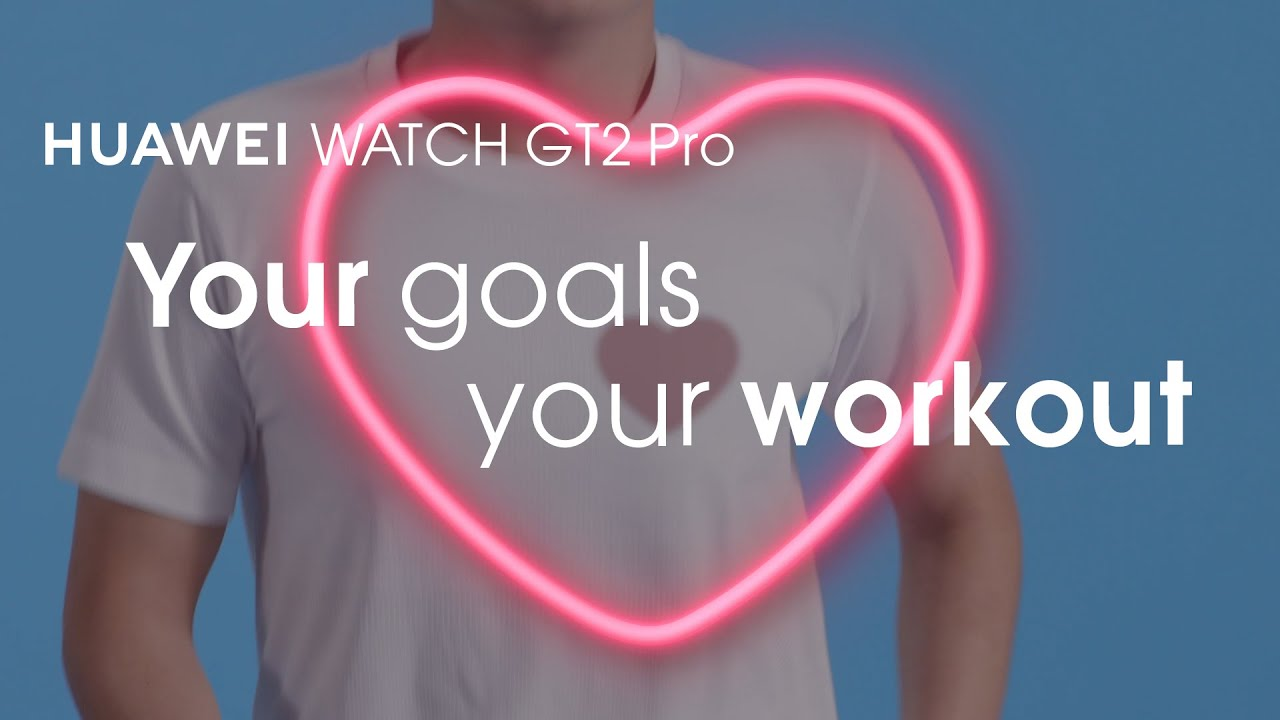 HUAWEI WATCH GT2 Pro - Your goals, your workout