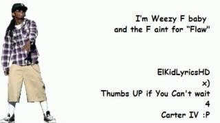 Lil Wayne - Nightmares Of The Bottom (Lyrics On Screen) [Carter IV] 2011