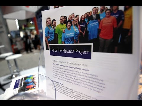 BIO 2017 - Healthy Nevada Project Connects to the World