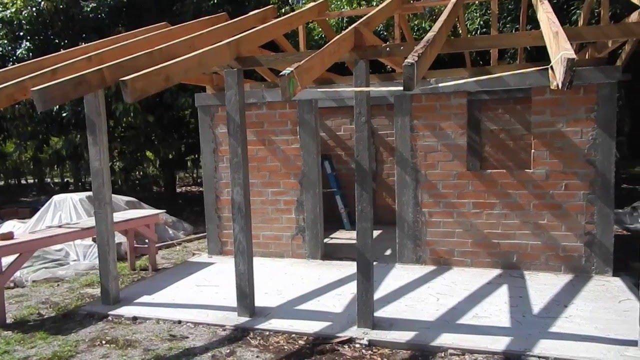 Tiny House / Homemade Bricks: A Homemade Brick House At