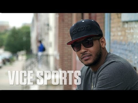 Carmelo Reflects on Marching Against Police Brutality in Baltimore: Stay Melo