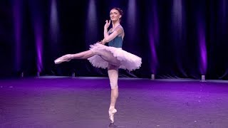 Anna Rose O'Sullivan rehearses the Cupid Variation from Don Quixote (The Royal Ballet)