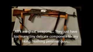 Difference Between The AK 47 And AK 74 Type Rifles