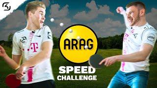 NiklasNeo & BigSpin vs Timo Boll | ARAG Speed Challenge