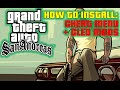 How to install Cheat Menu Mod and Cleo Into Gta San Andreas! (ENGLISH)