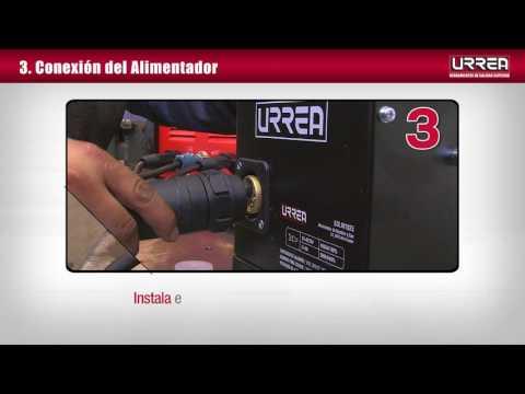 Soldadora Inverter MIG con alimentador externo URREA México thumbnail