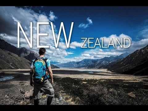 New Zealand Cinematic - A Roadtrip on the South Island NZ - Познавательные и прикольные видеоролики