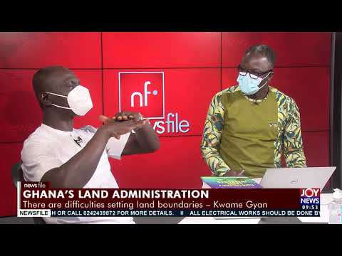 Kwame Gyan gives a broad outlook on what the new land law looks like and establishes why it matters