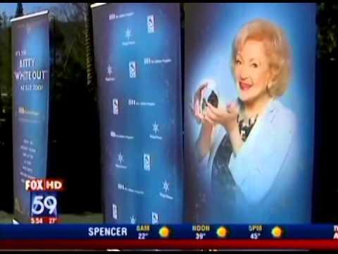 Betty White of Lifeline Program on Fox 59